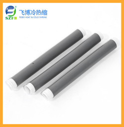 Silicone rubber cold shrinkable tube