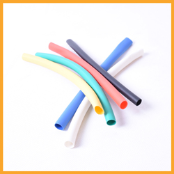 3:1 colorful heat shrinkable tube with glue